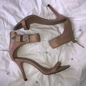 Zara nude heels, size 38